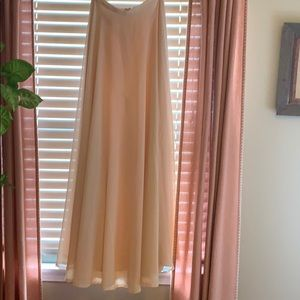 Jenny Yoo blush skirt
